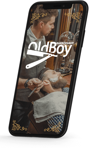 Oldboy Barbershop mobile application