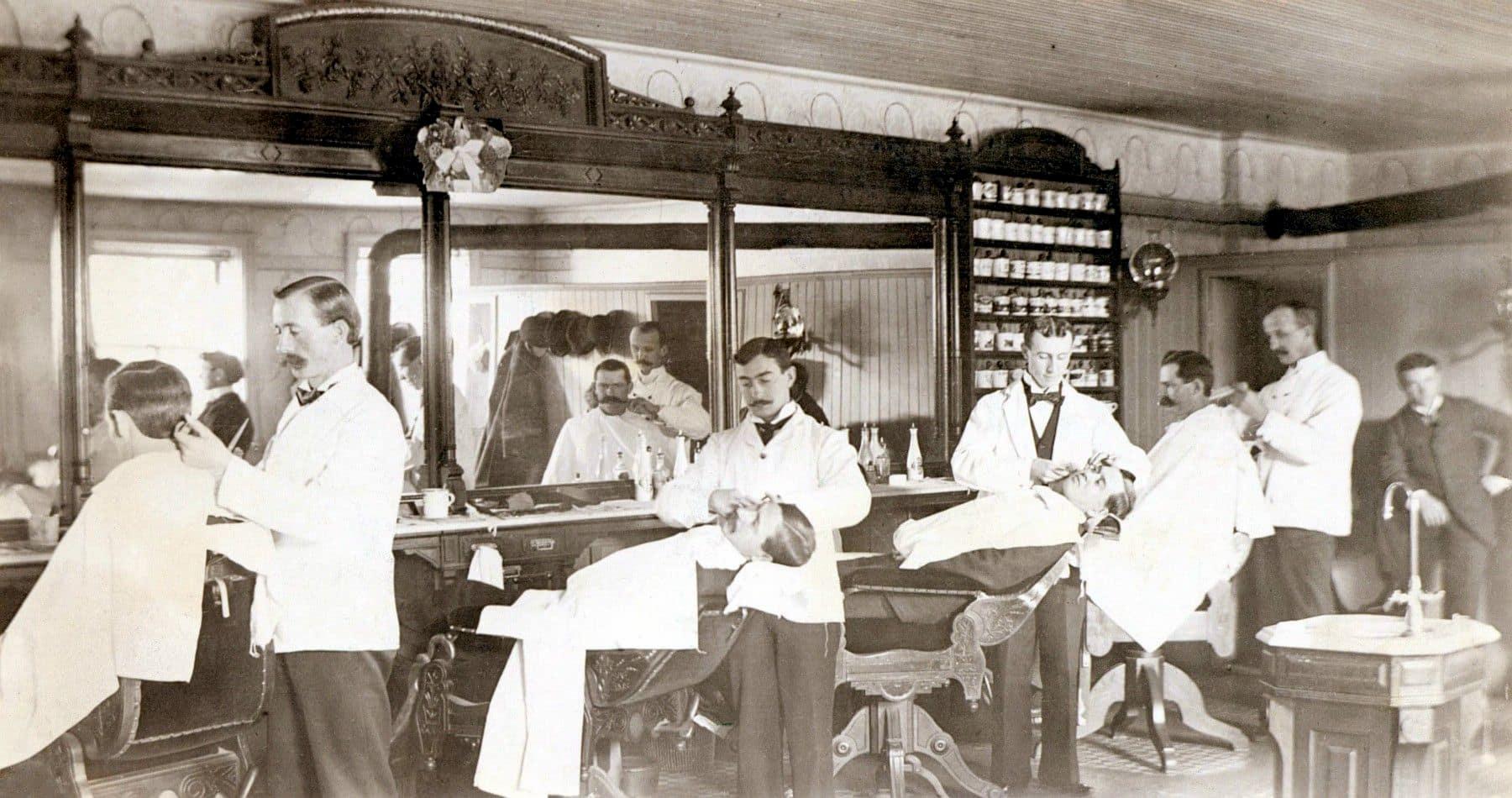 Oldboy barbershop news photo