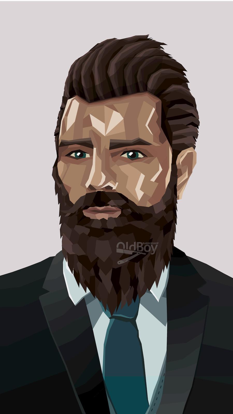 Максимально естественной рост бороды и усов