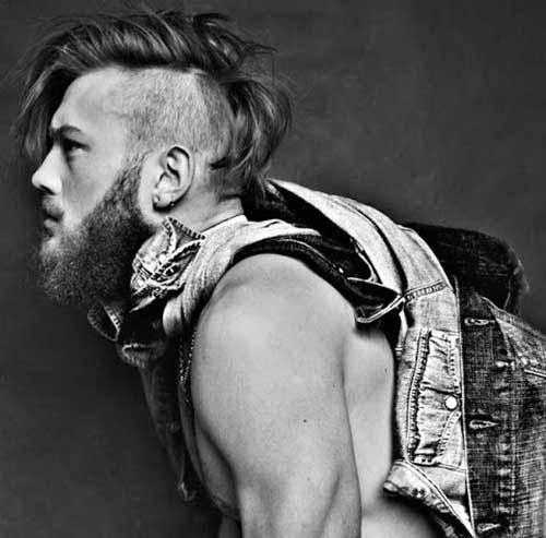 Прически рокеров – неформальная стрижка панка для мужчин