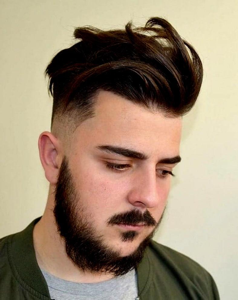 Отлично сочетается с бородой, окрашиванием и усами