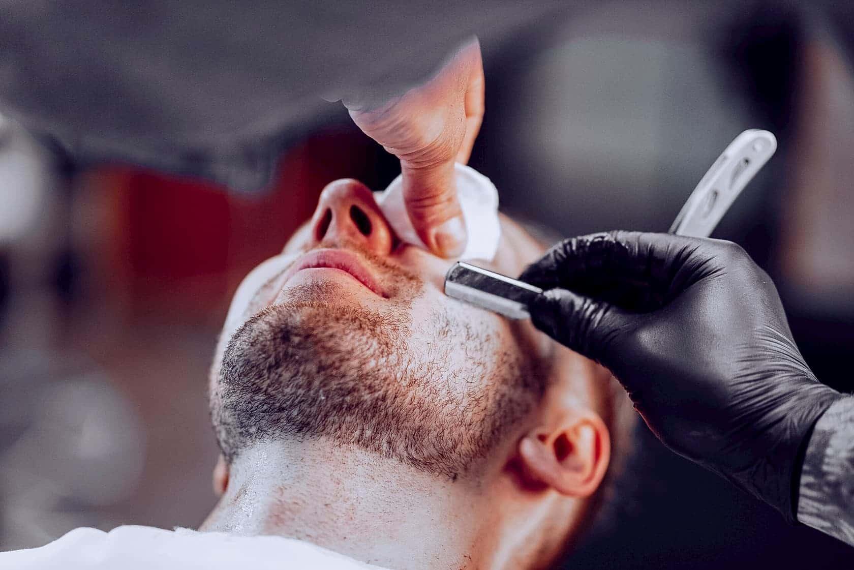 Опасное бритье: бритье бороды