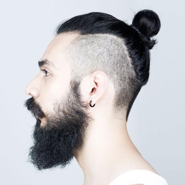 Сочетается с бородой