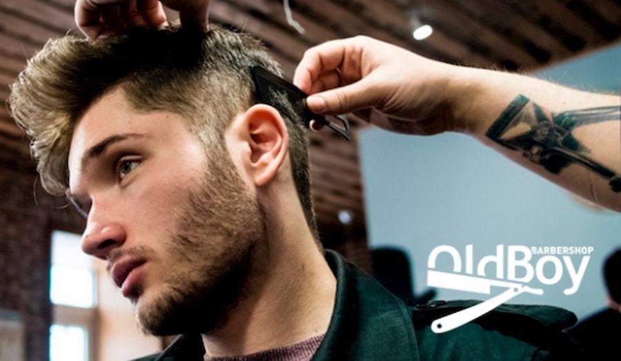 OldBoy Barbershop — не просто парикмахерская. Это брутальное место для настоящих мужчин