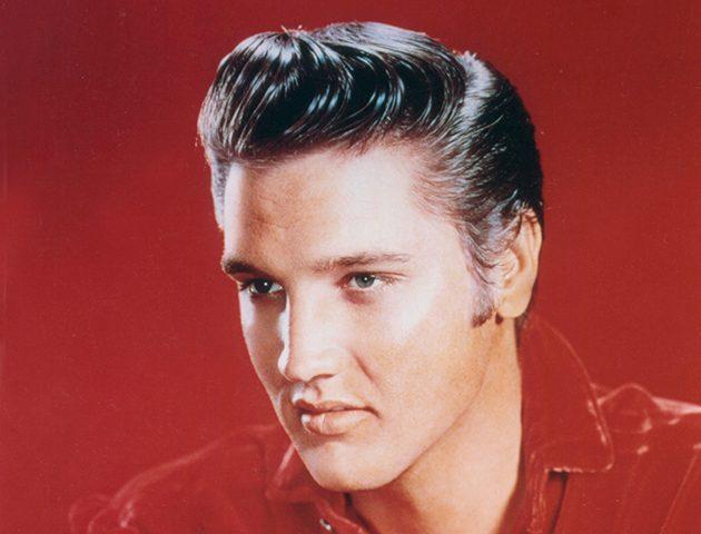 Элвис Пресли и его популярный бриолиновый Помпадур