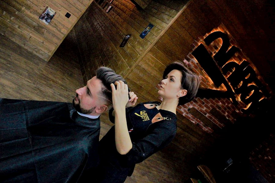 Мастер Анна. OldBoy Barbershop, Калининград