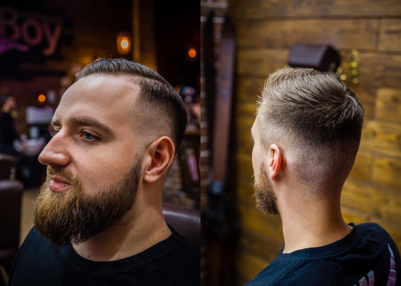 Еще одно достоинство фейда - он хорошо сочетается с бородой