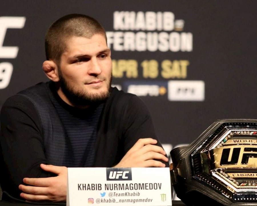 У Хабиба Нурмагомедова стандартная стрижка для бойцов UFC