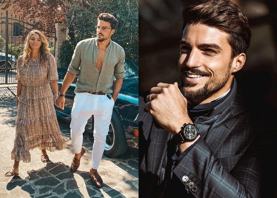 Мариано Ди Вайо — модель и известный Instagram-блогер. Он носит классическую итальянку