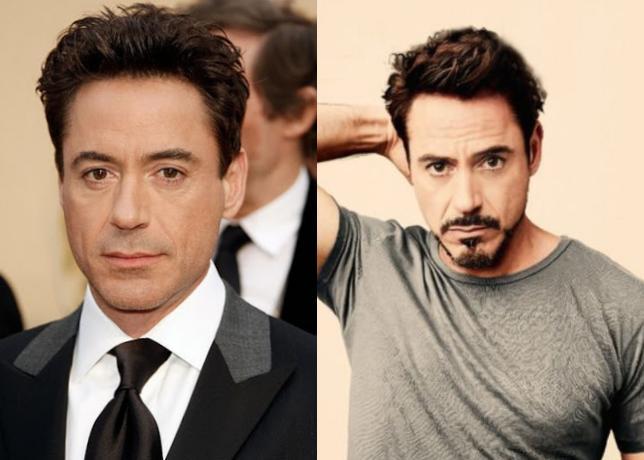 До контракта с Marvel актер почти не носил бороду, максимум — легкую щетину