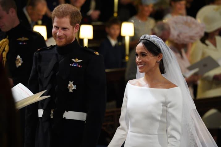 Принц Гарри стал первым членом королевской семьи за 125 лет, который не побрился в день свадьбы