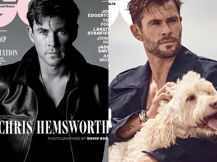Две обложки для GQ, и два разных образа