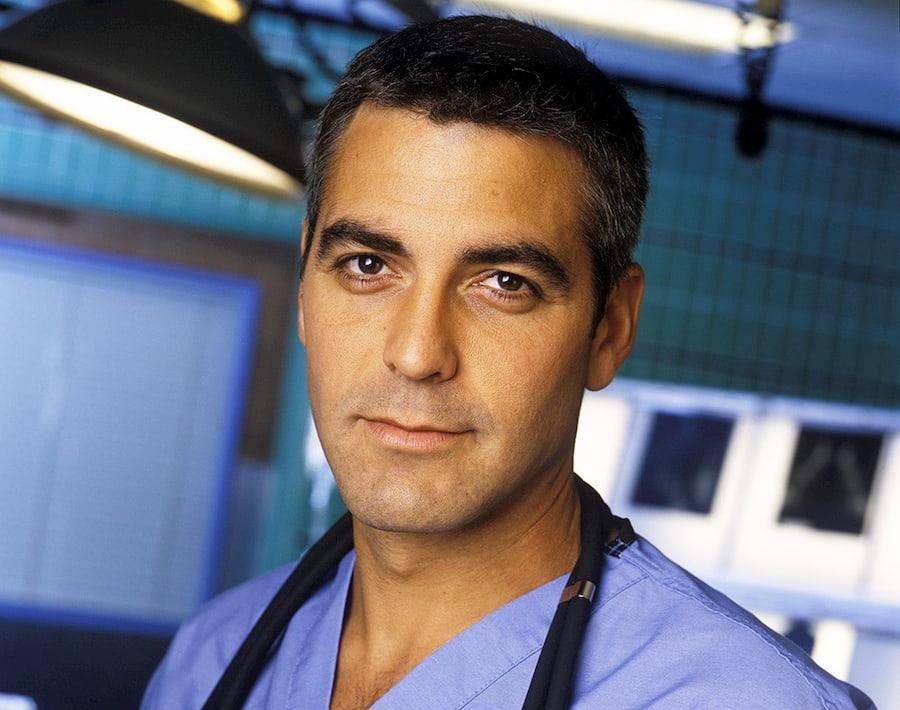 Джордж Клуни в «Скорой помощи»