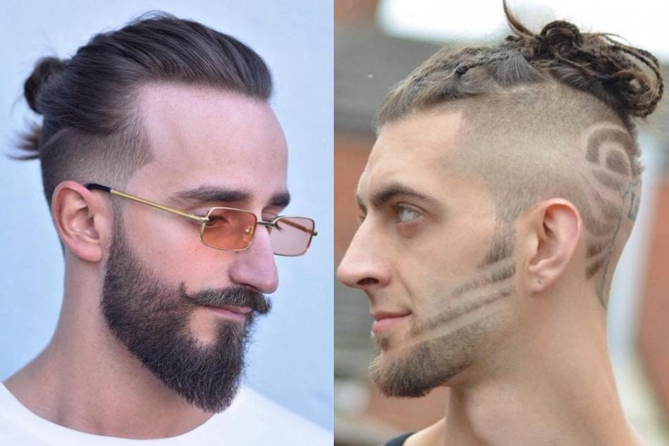 Можно оставить чуть больше длины, чтобы сделать рисунок или искусственный пробор (фото - haircutinspiration.com)