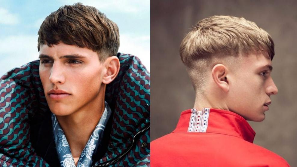 Такая форма подойдет тем, кто не готов к кардинальной смене имиджа (оба фото с Pinterest)