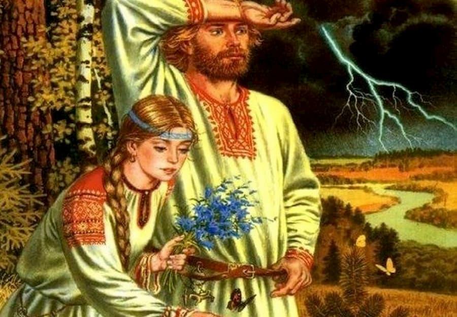 Теперь понятно, почему древние славяне носили длинные волосы — они просто не могли найти время для стрижки