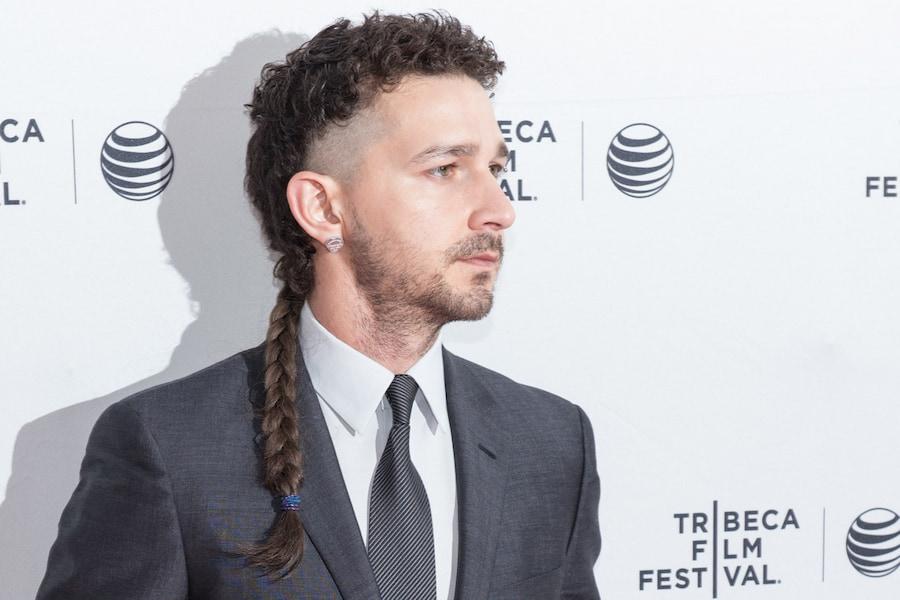 Актер довольно долго ходил с косой
