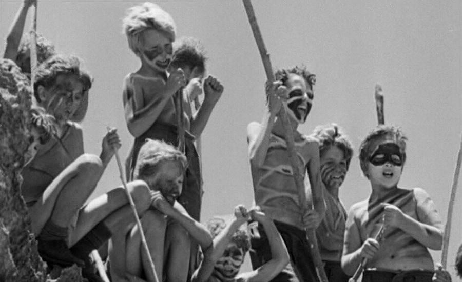 Кадр из фильма «Повелитель мух» (1963)