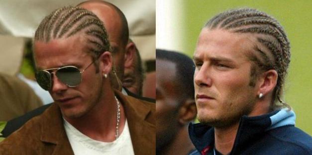 По внешнему виду звезды «Манчестер Юнайтед» можно было решить, что он ушел из футбола в хип-хоп. Правда, поклонники не оценили его образ