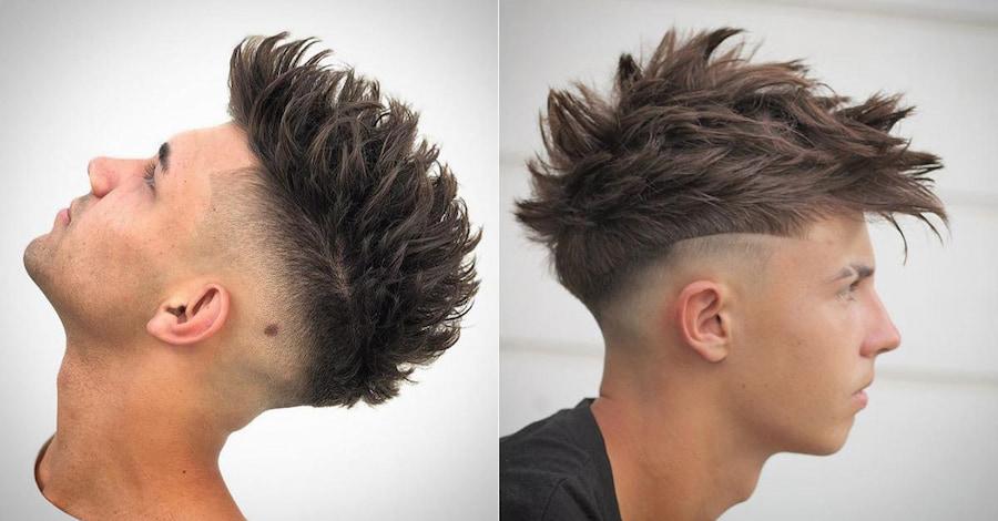 Для укладки подойдут средства вроде глины и матовой помады для волос, которые подчеркнут текстуру стрижки (1 и 2 фото — @reyesthebarber в Instagram)