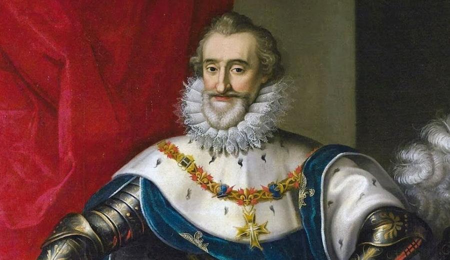 Со смертью Генриха IV во Франции закончилась и эпоха Возрождения