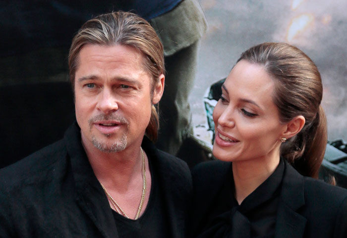 Полное единение в вопросах стиля не помогло голливудским звездам в отношениях: они расстались в 2016 году, но Брэд до сих пор судится с бывшей возлюбленной за право опеки над детьми