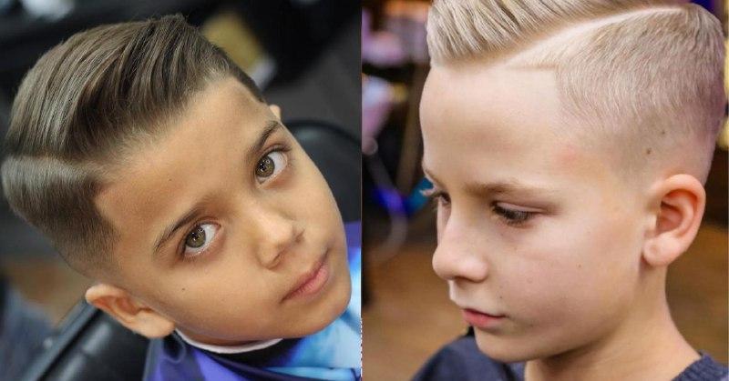 Сайд парт (слева) может стать альтернативой. Эту стрижку тоже нужно укладывать, но она не так заметно отрастает (1 фото — @cheobarberpr в Instagram, 2 фото — архив OldBoy)