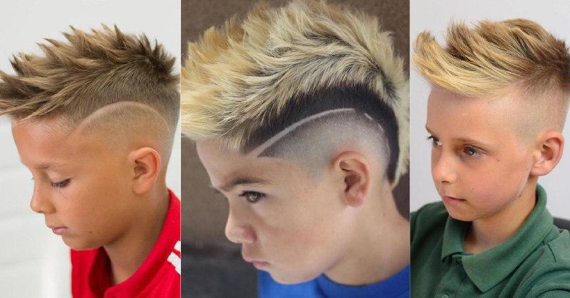 Посередине на фотографии тоже ястреб, хотя за счет окрашивания стрижка больше напоминает ирокез (1 фото — @javi_thebarber_, 2 фото — @ceejayfadez в Instagram, 3 фото — haircutinspiration.com)