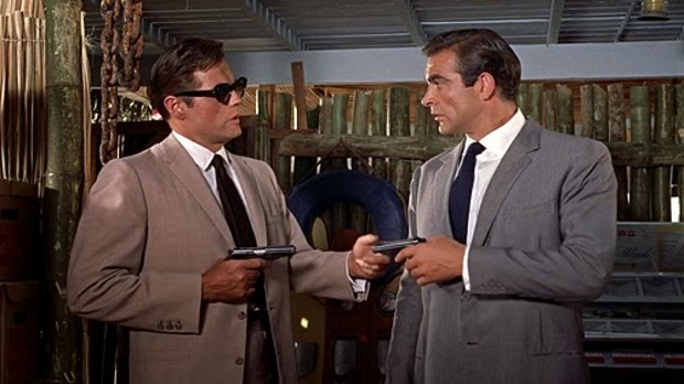 Кадр из к/ф «Доктор Ноу» (1962)