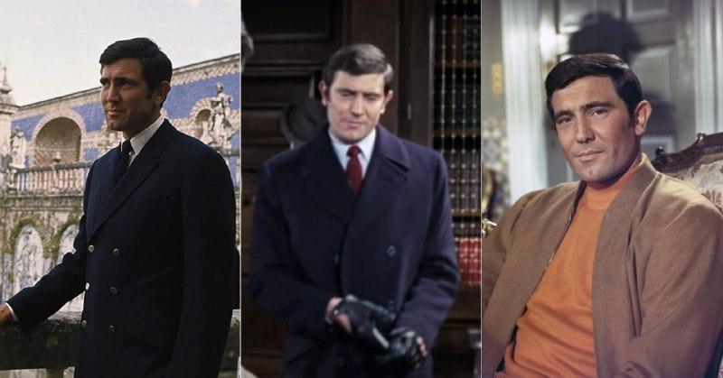 К пиджаку вопросов ни у кого не было: похожую модель носил и третий Бонд, Роджер Мур. А вот образ Лэзенби в костюме для гольфа (справа) фанаты «бондианы» когда-то признали одним из худших за всю историю франшизы