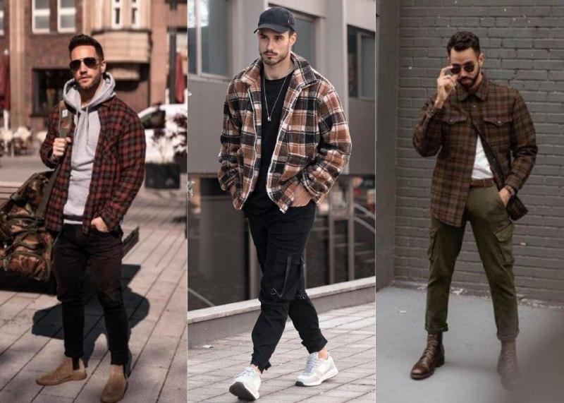 Как вы видите, куртку-рубашку легко комбинировать с практически с чем угодно. Такая универсальная вещь просто обязана быть в гардеробе (фото 1, 2 — Pinterest, фото 3 — Lookastic)